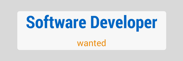 Software Developer Job Opportunity