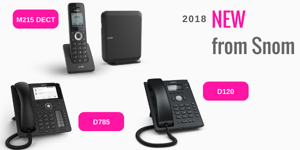 New Single Cell M215 Dect Solution And Desk Phones From Snom